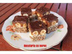 Snickers - Bucataria cu noroc Noroc, Tiramisu, Ethnic Recipes, Desserts, Sweets, Tailgate Desserts, Deserts, Postres, Dessert