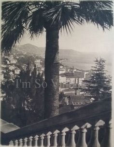antique Italian photo print San Remo 1920s by ImSoVintage on Etsy, $19.00