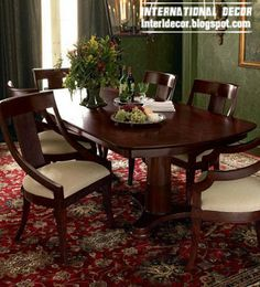 Spanish dining room furniture, classic dining room furniture