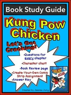 This is a study guide for the book, Kung Pow Chicken: Let's Get Cracking!, by Cyndi Marko. It is the first book in the Kung Pow Chicken series--a Branches book series published by Scholastic. I hope you find it to be a convenient and useful resource for your students!Included in this packet you will find:*A Character Counts chart for your students to fill in as they read and gather more information about the characters in the story.