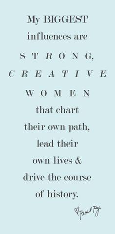I Love Strong Women!