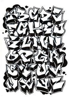 plantillas de letras graffitis - Buscar con Google