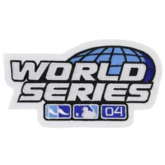 2004 MLB World Series Logo Jersey Patch St. Louis Cardinals vs. Boston Red Sox