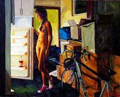 "Saatchi Art Artist James Needham; Painting, ""The Move"" #art"