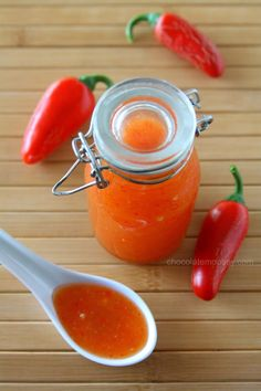 Sweet Chili Sauce from www.chocolatemoosey.com