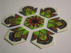 The Quilt Rat: Doodled Hexagons