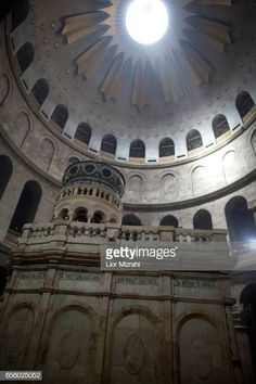 The tomb of Jesus Christ with the rotunda is seen in the Church of the Holy Sepulchre on March 21 2017 in Jerusalem Israel The tomb of Jesus Christ... Jesus Tomb, Jesus Christ, Stock Pictures, Stock Photos, Naher Osten, Jerusalem Israel, Holy Land, Royalty Free Photos, Catholic