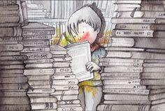 Super reader / Superlector (ilustración de Rosa María Curtó)