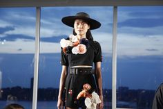The Prettiest Pics From Fashion Week #refinery29  http://www.refinery29.com/fashion-week-spring-2015-behind-scenes#slide26  In full bloom at Harbison.
