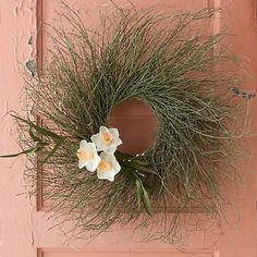 Fern Branch Wreath in Garden Wreaths + Bunches at Terrain