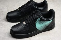 the latest d13e8 271f1 Nike Air Force 1 Low 07 Noir Black Green Mens Shoes-2 Air Force