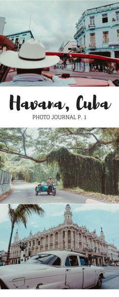 """Read about our adventure in Havana, Cuba! From visiting Parque Almendares, Plaza de la Revolcion, El Malecon, La Habana Vieja- """"Old Havana"""", Vedado, Havana Club, and more..."""