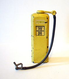 Britains Lead Toy Soldier Power Gas Station Pump Figure Johillco