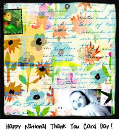 Happy National Thank You Card Day! Perfect timing: the day right after Christmas!
