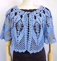 Crochet Cape Sweater For Women - Lace Cape (Crochet Shawls)