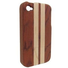 Wooden iPhone Case Spliced from Rosewood and Maple