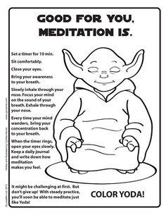 Yoda Yoga!  #fitness #exercise #health #starwars #yoda #health #healthy #goodhealth #pinit!