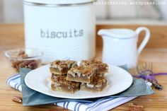 pecan pie bars by butter