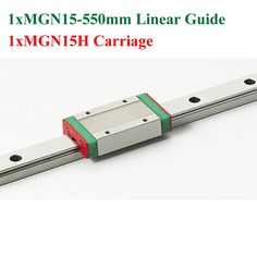 51.10$  Watch here - http://ali4lg.worldwells.pw/go.php?t=32732205818 - MR15 15mm Mini Linear Guide 550mm MGN15 Linear Motion Rail With MGN15H Linear Block Cnc Kossel