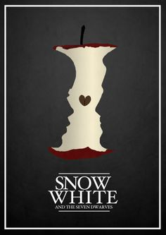 Alternative Disney posters by Rowan Stocks-Moore. This Snow White one is especially stunning