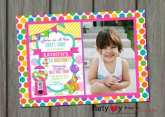 Hey, I found this really awesome Etsy listing at https://www.etsy.com/listing/165304862/candy-shop-birthday-invitation-printable