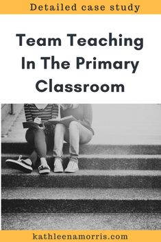 A detailed description of how two primary school teachers team teach in a large open classroom. There are many benefits of team teaching in primary schools. 2018 update included! Kathleen Morris Primary Tech