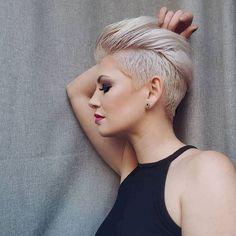10 Edgy Pixie Haarschnitte für Frauen, Stylische Pixie-Frisur, 2018 Beste kurze Frisuren für Frauen , Kurze Frisuren Edgy Pixie Haircuts, Long Pixie Hairstyles, Latest Short Hairstyles, Undercut Hairstyles, Short Haircuts, Hairstyle Short, Blonde Hairstyles, Weave Hairstyles, Haircut Short