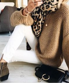 a946ceec97 fall style, leopard print, fall fashion, sweater weather, fall outfit Leopard  Print