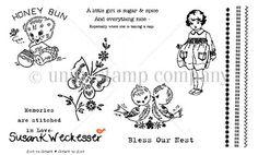 susan weckesser {artist} & unity stamp company