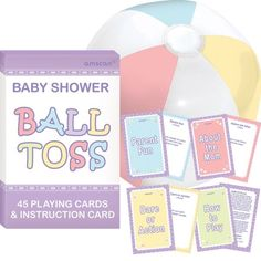 Baby Shower Ball Toss Game. $5.99 have a few to make teams.