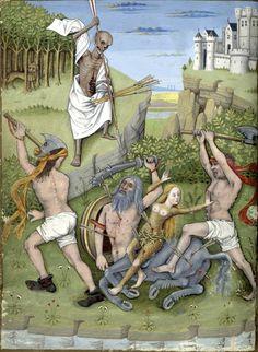 Heure de Charles d'Angoulême  Horae ad usum Parisiensem. Latin 1173. End of XV century