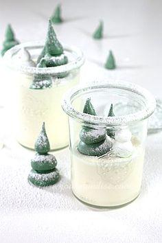 Mousse au chocolat blanc ivoire, vanille et tonka - www.Puregourmandise.com