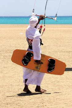 Kiteboarding egypt style :D LIKE