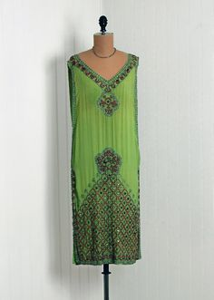1920s dress via Timeless Vixen Vintage