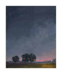 """Twilight"" - Art Print by Stephanie Goos Johnson in beautiful frame options and a variety of sizes."