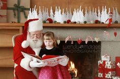 How To Do Santa Photography Mini Sessions - totally want to do this someday!
