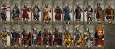 Holy Roman Empire Unit Cards