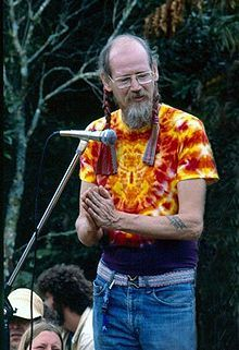 This is Stephen Gaskin, the spiritual leader of The Farm, a hippy commune in Tennessee. I lived there for 8 months. I liked it there. I could write a book.