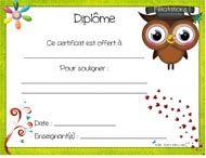 Certificats primaire