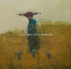 cathy hegman explains her process and using cold wax