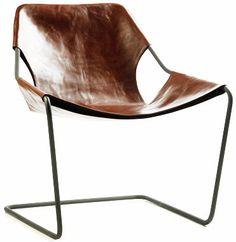 chocolate leather chair