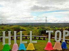 Image credit to https://www.facebook.com/travelbohol/    Hilltop 360 View Park is located i...