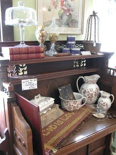 Gorgeous organ turned gorgeous desk, in the South Living Room at Sisters Garden.
