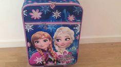Disney Frost trolley kuffert til børn Two sisters - one heart