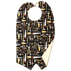 Tools-Khaki Tuxedo Adult Bib
