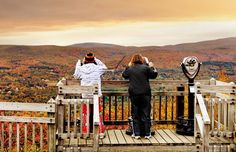 North Adams overlook on Mohawk Trail (© Berthold Steinhilber/laif/Redux) Places To Travel, Places To See, New England Foliage, Shelburne Falls, North Adams, Local Photographers, Back Road, Local Attractions, Vacation Spots