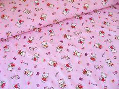Bavlněný+úplet+-+kočička+-+Kitty+-+růžová+Krásný+bavlněný+úplet+světle+růžové+barvy+s+kočičkou.+Oboulíc+potisk.+Vhodný+na+trička,+pyžamka,+noční+košilky,+legínky+či+šátečky.+Případně+i+bytový+textil,+např.+prostěradla.+Složení:+100%BA+Gramáže:+130g/m2+Šíře:+160+cm+Cena+uvedena+za+10+cm.+Pokud+tedy+chcete+např.0,7+m,+zadáte+7+ks+po+10+cm.