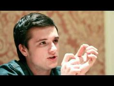 VIDEO: Josh Hutcherson, Isabelle Fuhrman, and Jacqueline Emerson sat down for a Hunger Games interview. This is another favorite! (he talks about the cave scene at 10:39)