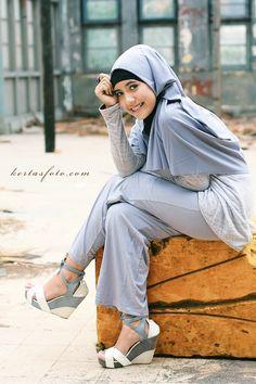 Dewi in Hijab