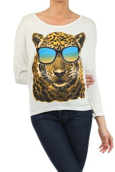 Sunglass Cheetah Top www.gatzino.com -  For more amazing deals visit us at http://www.brides-book.com/#!brides-book-outlets/ck9l and remember to join the VIB Ciub